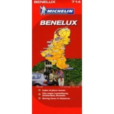 Benelux Michelin 1 : 400 000